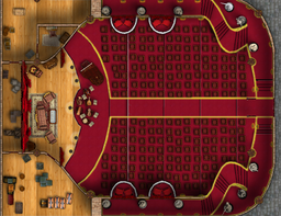 My version of the Theater Flip Mat from Paizo....