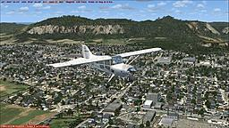 Central Wanthrock City in MS FSX
