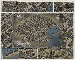 Innsmouth map - presentation